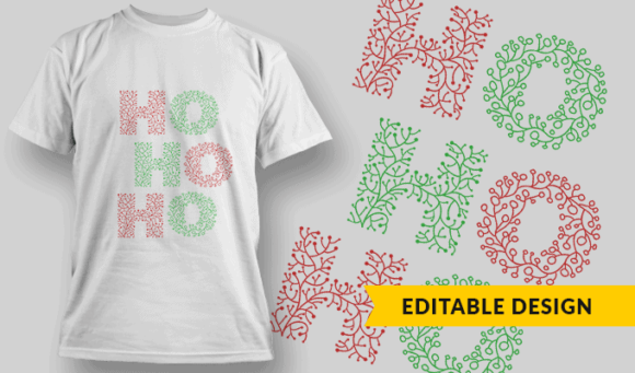 Ho Ho Ho hohoho floral preview