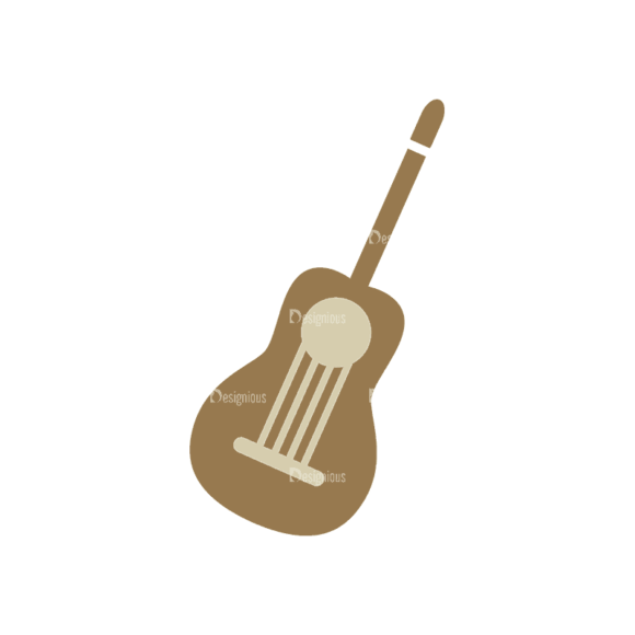 Mountain And Camping Info Elements Guitar Svg & Png Clipart mountain and camping vector info elements vector guitar