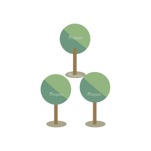 Mountain And Camping Info Elements Trees 03 Svg & Png Clipart mountain and camping vector info elements vector trees 03