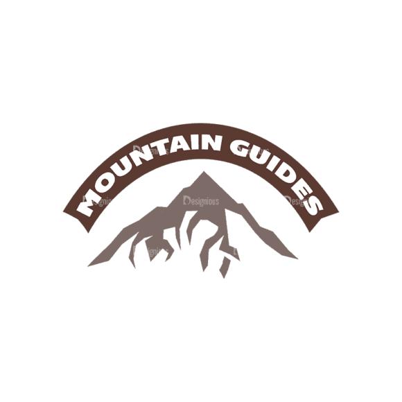 Mountain Climbing Set 1 Logo 03 Svg & Png Clipart mountain climbing vector set 1 vector logo 03