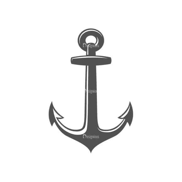 Nautical Labels Set 3 Anchor 03 Svg & Png Clipart nautical labels vector set 3 vector anchor 03