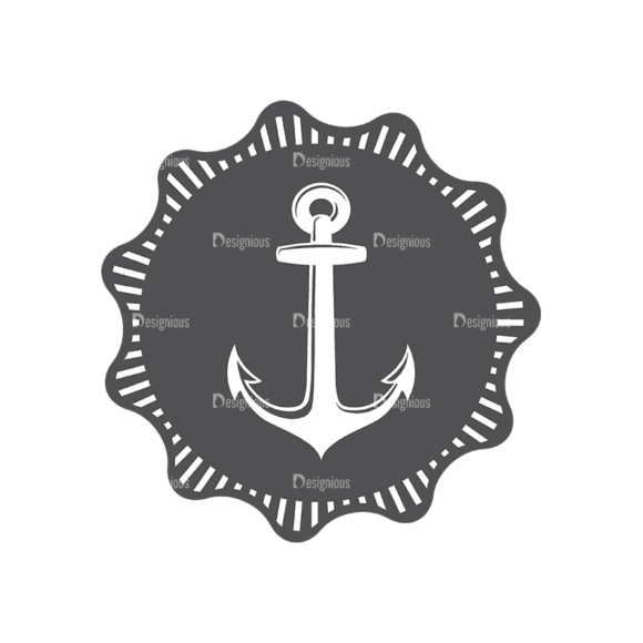 Nautical Labels Set 3 Anchor 10 Svg & Png Clipart nautical labels vector set 3 vector anchor 10