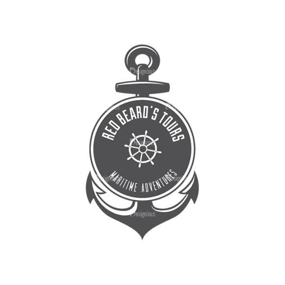 Nautical Labels Set 3 Logo 09 Svg & Png Clipart nautical labels vector set 3 vector logo 09
