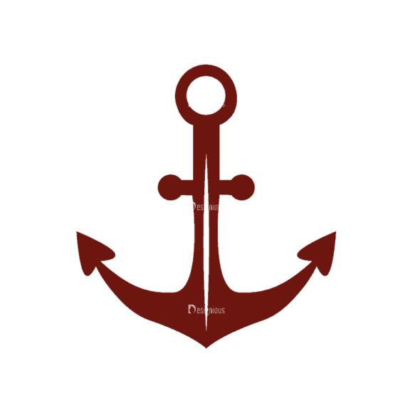 Nautical Symbols Set 1 Anchor Svg & Png Clipart nautical symbols vector set 1 vector anchor