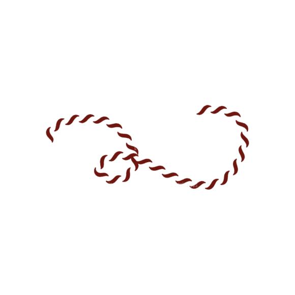 Nautical Symbols Set 1 Rope 01 Svg & Png Clipart 1