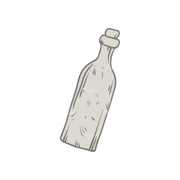 Nautical Elements Set 2 Bottle Svg & Png Clipart nautical vector elements set 2 vector bottle