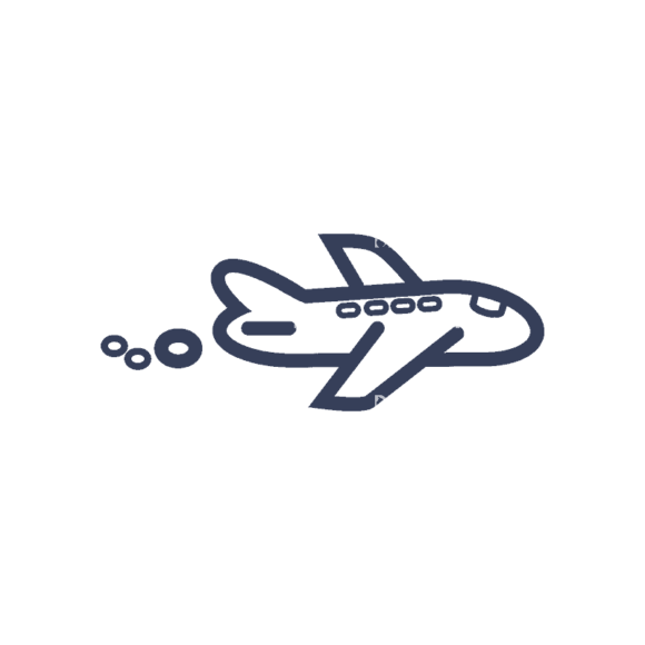 Planes Set 1 Airplane 03 Svg & Png Clipart planes vector set 1 vector airplane 03