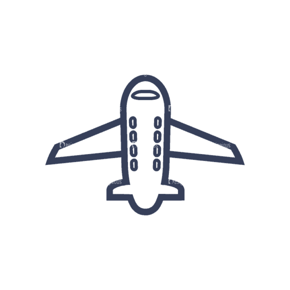 Planes Set 1 Airplane 04 Svg & Png Clipart planes vector set 1 vector airplane 04