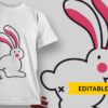 Perfectly Imperfect pooping bunny preview