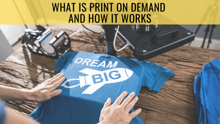What is Print On Demand and How it Works print on demand