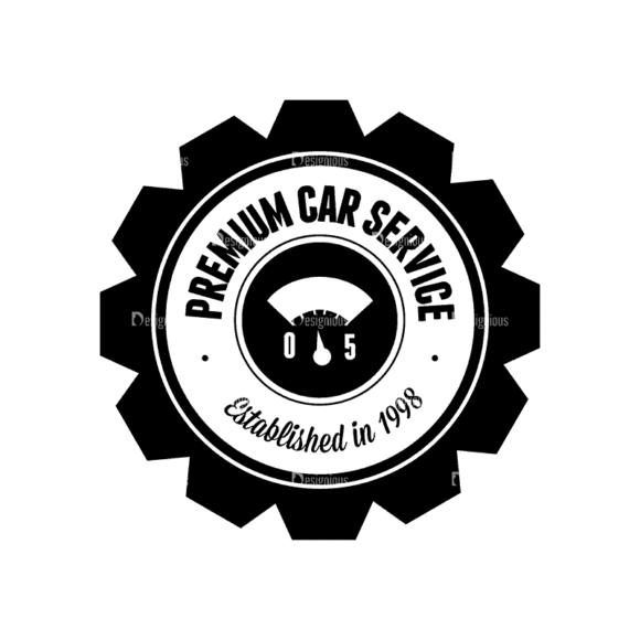 Retro Car Labels Set 1 Logo 02 Svg & Png Clipart retro car labels set 1 vector logo 02