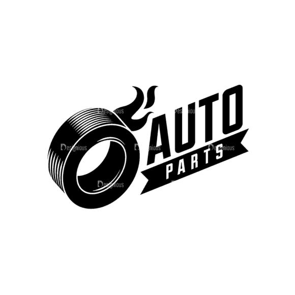 Retro Car Labels Set 1 Logo 03 Svg & Png Clipart retro car labels set 1 vector logo 03
