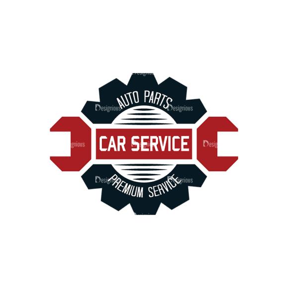 Retro Car Labels Set 2 Logo 01 Svg & Png Clipart retro car labels set 2 vector logo 01