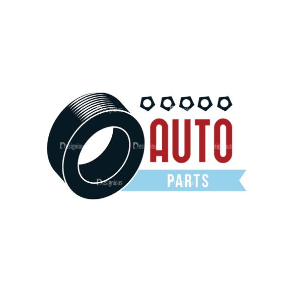 Retro Car Labels Set 2 Logo 04 Svg & Png Clipart 1