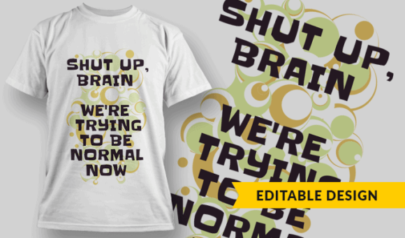 Shut Up Brain, We're Trying To Be Normal Now shut up brain preview