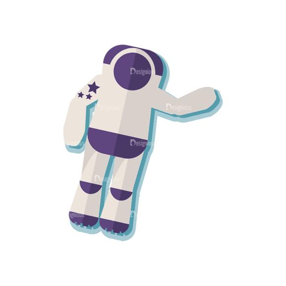 Space Exploration Set Astronaut Svg & Png Clipart space exploration vector set vector astronaut