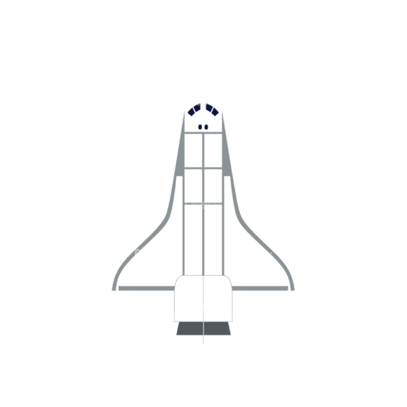 Space Flat Icon Set 3 Space Shuttle Svg & Png Clipart space flat icon vector set 3 vector space shuttle