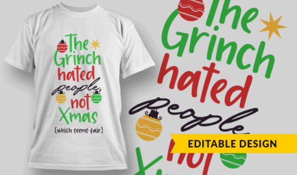 The Grinch Hated People, Not Xmas (which seems fair) the grinch hated people not xmas preview