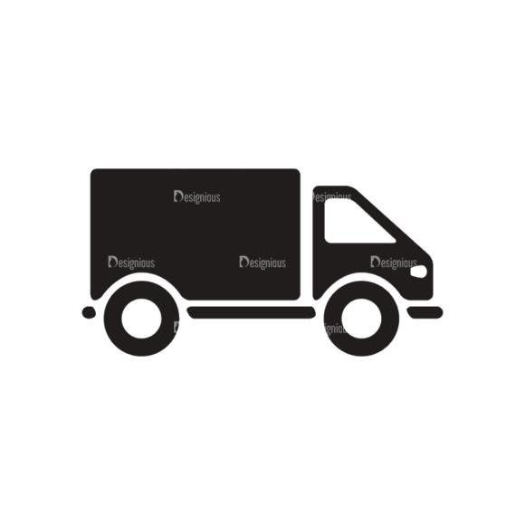 Transport Logos 2 Truck Svg & Png Clipart 1