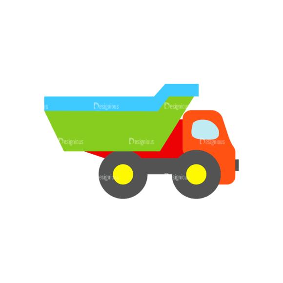 Transportation Set 1 1 Dump Truck Svg & Png Clipart transportation vector set 1 vector 1 dump truck