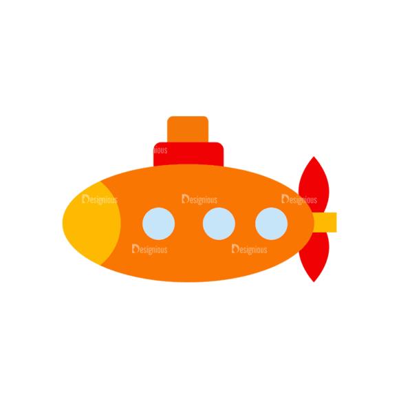 Transportation Set 1 1 Submarine 07 Svg & Png Clipart transportation vector set 1 vector 1 submarine 07