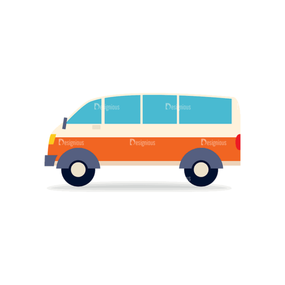 Transportation Set 1 Bus 03 Svg & Png Clipart transportation vector set 1 vector bus 03