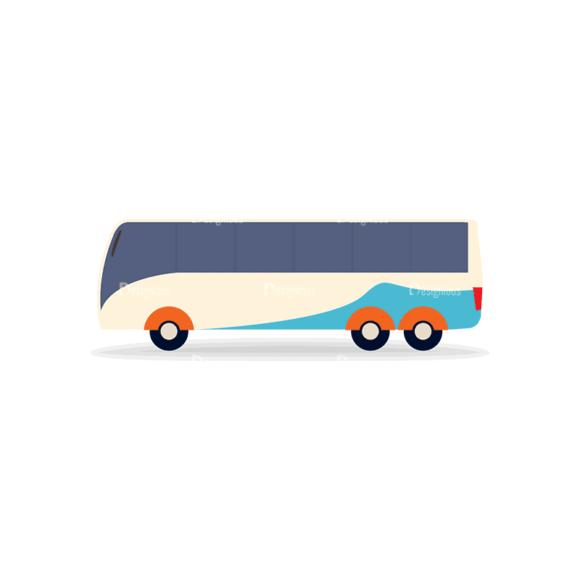 Transportation Set 1 Bus 07 Svg & Png Clipart transportation vector set 1 vector bus 07