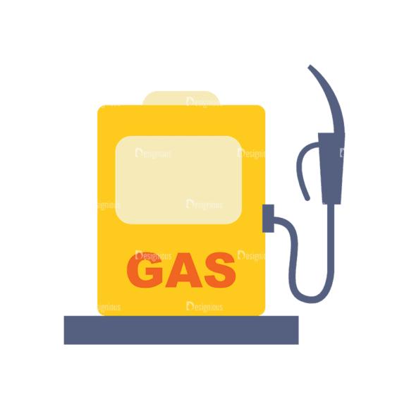 Transportation Set 1 Gas Svg & Png Clipart transportation vector set 1 vector gas