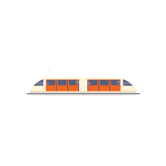 Transportation Set 1 Train Svg & Png Clipart transportation vector set 1 vector train