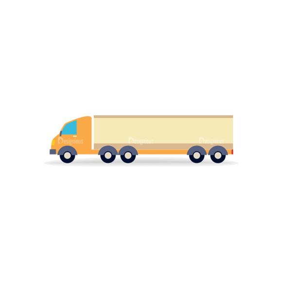 Transportation Set 1 Truck 05 Svg & Png Clipart transportation vector set 1 vector truck 05
