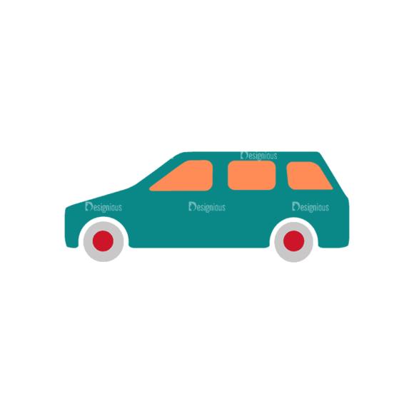 Transportation Set 2 Car 05 Svg & Png Clipart transportation vector set 2 vector car 05