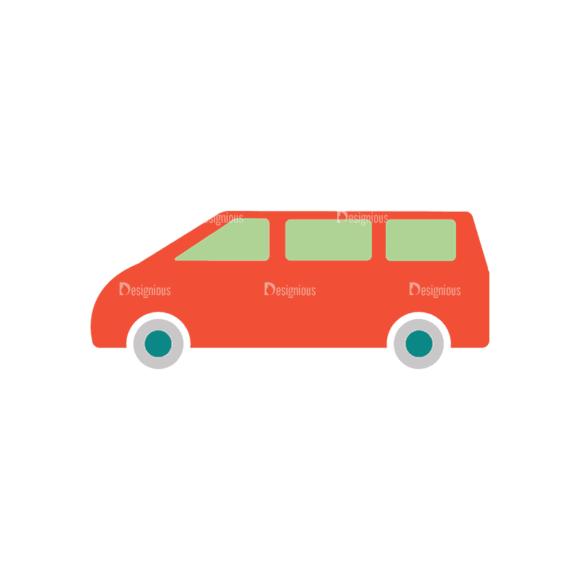 Transportation Set 2 Car 06 Svg & Png Clipart transportation vector set 2 vector car 06