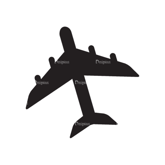 Travel Flat Set 1 Airplane Svg & Png Clipart travel flat vector set 1 vector airplane