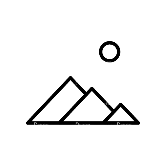 Travel Icons Set 4 Mountain Svg & Png Clipart travel icons set 4 vector expanded mountain