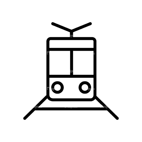 Travel Icons Set 4 Train 06 Svg & Png Clipart travel icons set 4 vector expanded train 06
