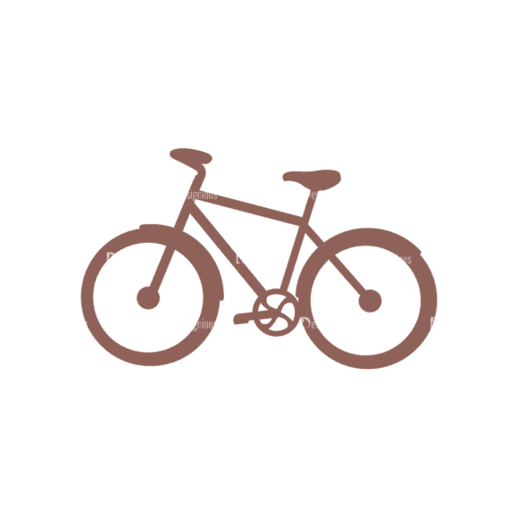 Travel Icons Set 2 Bicycle Svg & Png Clipart 1