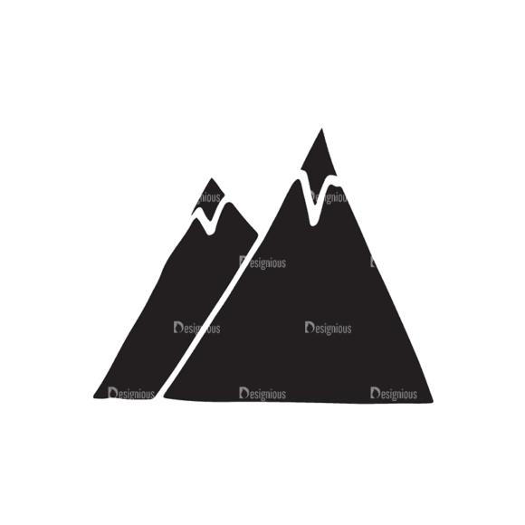 Travel Elements Set 1 Mountain Svg & Png Clipart travel vector elements set 1 vector mountain