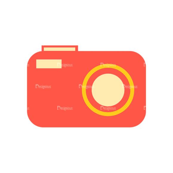Travel Set 18 Camera Svg & Png Clipart 1