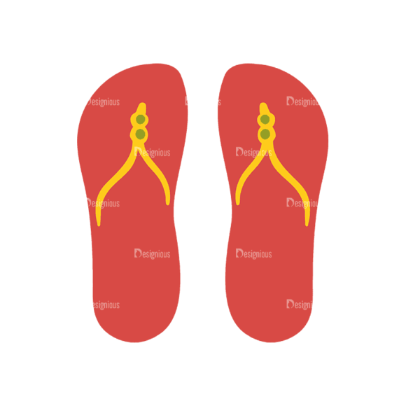 Travel Set 18 Slippers Svg & Png Clipart travel vector set 18 vector slippers