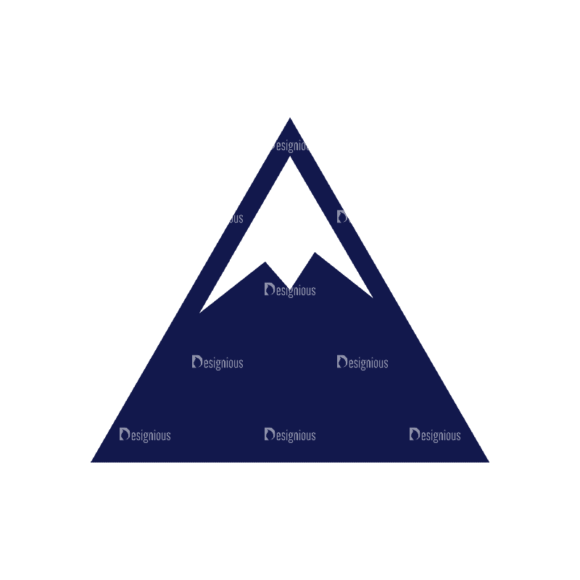 Travel Set 2 Mountain Svg & Png Clipart travel vector set 2 vector mountain