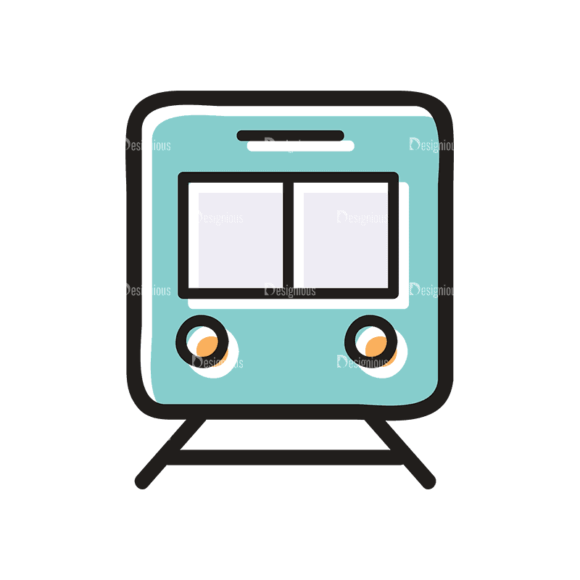 Travel Set 21 Train Svg & Png Clipart travel vector set 21 vector train