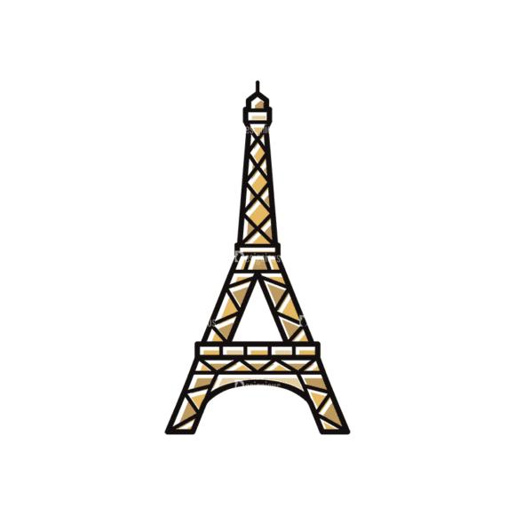 Travel Set 22 Paris Svg & Png Clipart travel vector set 22 vector paris