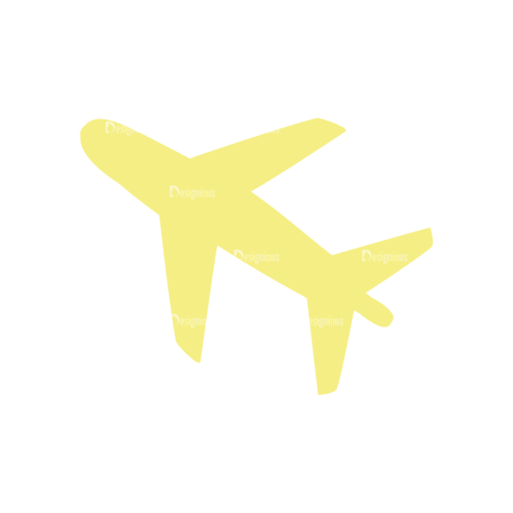 Travel Set 4 Airplane Svg & Png Clipart travel vector set 4 vector airplane