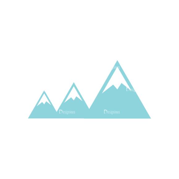 Travel Set 4 Mountain 13 Svg & Png Clipart travel vector set 4 vector mountain 13
