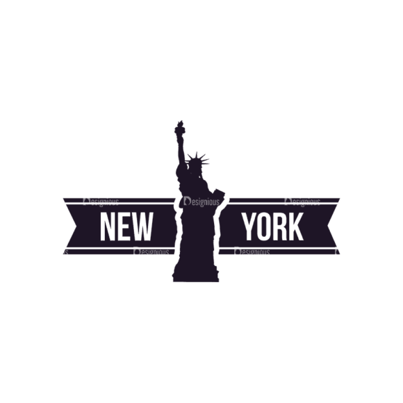 Travel Stamps Set 2 New York Svg & Png Clipart travel vector stamps vector set 2 vector new york