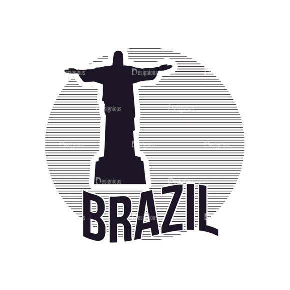 Travel Stamps Set 3 Brazil Svg & Png Clipart travel vector stamps vector set 3 vector brazil