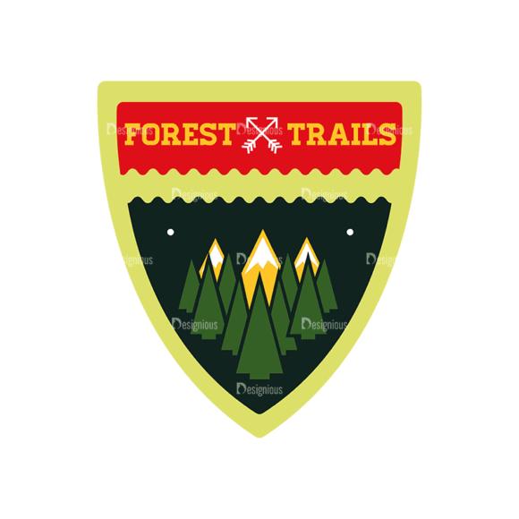 Vintage Outdoor Camp Badges Set 1 Badge 01 Svg & Png Clipart vintage outdoor camp badges set 1 vector badge 01