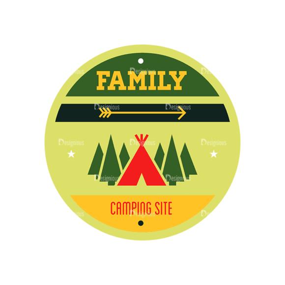 Vintage Outdoor Camp Badges Set 1 Badge 02 Svg & Png Clipart vintage outdoor camp badges set 1 vector badge 02