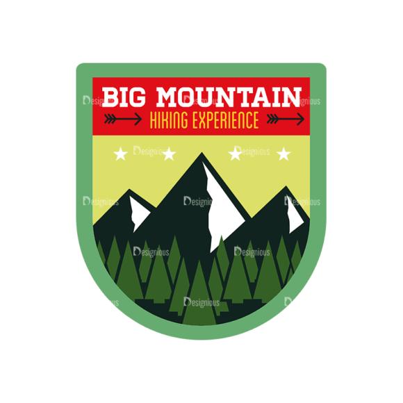 Vintage Outdoor Camp Badges Set 1 Badge 04 Svg & Png Clipart vintage outdoor camp badges set 1 vector badge 04
