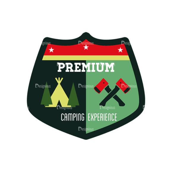 Vintage Outdoor Camp Badges Set 1 Badge 05 Svg & Png Clipart vintage outdoor camp badges set 1 vector badge 05